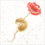 Wrendale Country Set Poppy Mouse