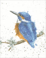 Mini Card Wrendale Kingfisher
