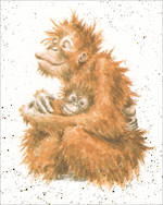Mini Card Wrendale Orangutans