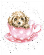 Mini Card Wrendale Teacup Pup