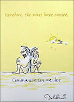 Blank Card General John Lennon Communication