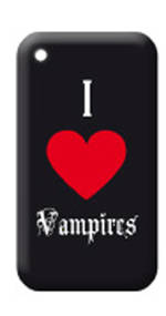 Phone Case 3G I Love Vampires