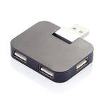 Travel USB Hub Black
