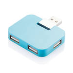 Travel USB Hub Blue