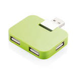 Travel USB Hub Green