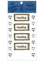 Seals Pack Of 20 Weddng Gold