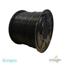 PLA 1.75mm BLACK 5KG