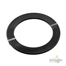 ABS 13mm STRIP BLACK