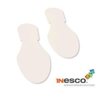 MightyLine White Footprints