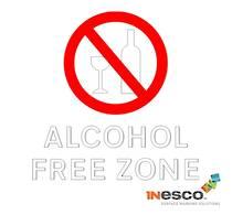 Alcohol Free Zone Symbol