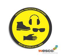 MightyLine Floor Sign - PPE