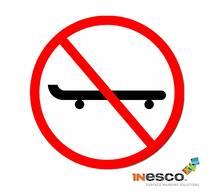 No Skateboarding Symbol