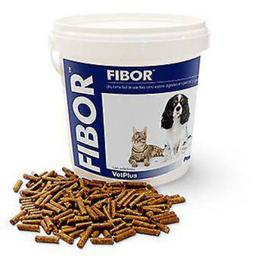 VetPlus Fibor Fiber Supplement for Dogs and Cats - 500gm