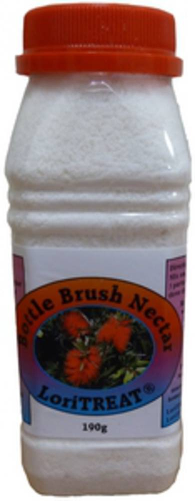 Bottle Brush Nectar Lori Treat 190g