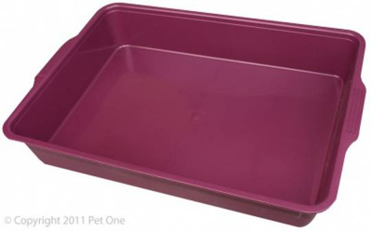 Pet One Cat Litter Tray Medium 44x31x7cm
