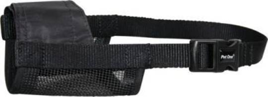 Pet One Adjustable Nylon Muzzle - Small