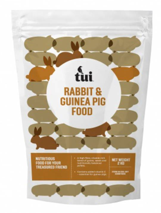 Tui Rabbit & Guinea Pig Mix Food (2kg)