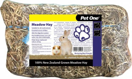 Pet One Bedding Hay 5L Meadow