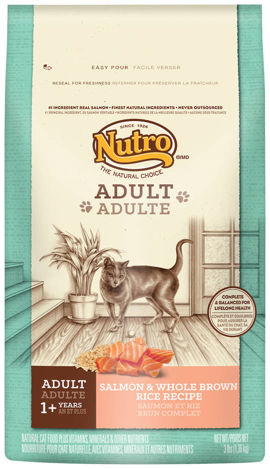 Adult Cat Wholesome Essentials 1.36kg (Salmon and Whole Brown Rice Formula)