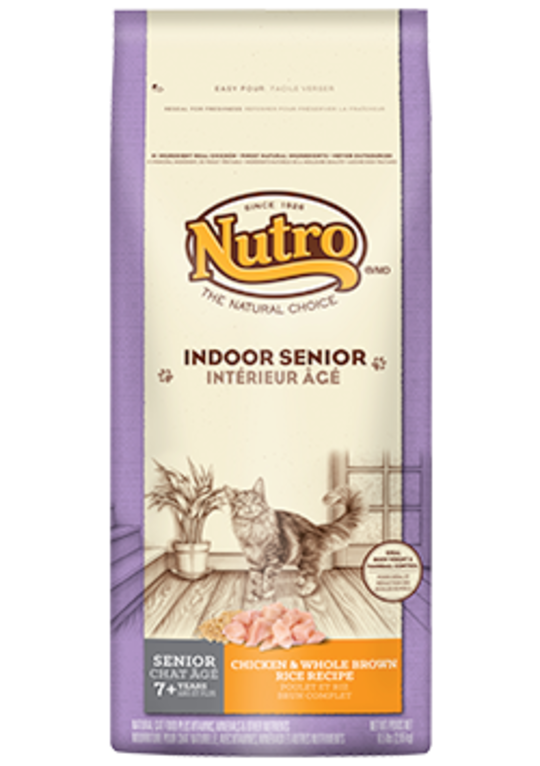 Indoor Senior Cat Wholesome Essentials 2.95kg (Chicken and Whole Brown Rice Formula)