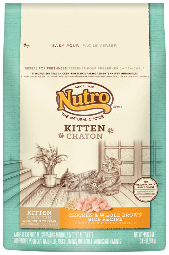 Kitten Wholesome Essentials 1.36kg (Chicken and Whole Brown Rice Formula)