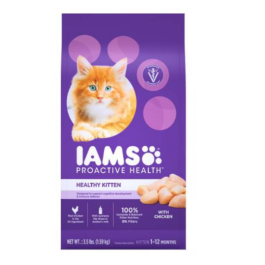 IAMS Healthy Kitten Chicken 1.59kg