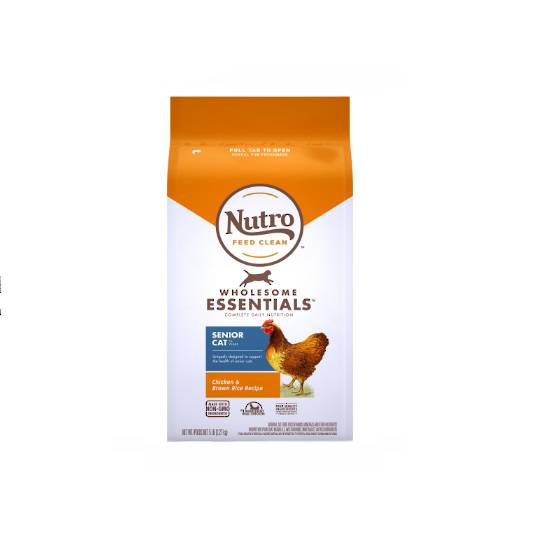 Nutro Indoor Senior Chicken & Whole Brown Rice 2.27kg