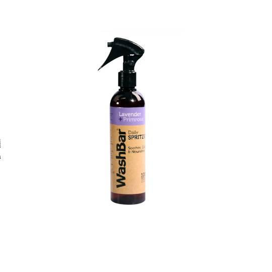 WashBar 100% Natural Daily Spritzers Lavender and Primrose 250ml
