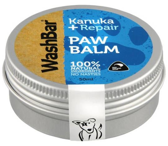 WashBar Paw Balm 50ml Kanuka + Repair 50ml