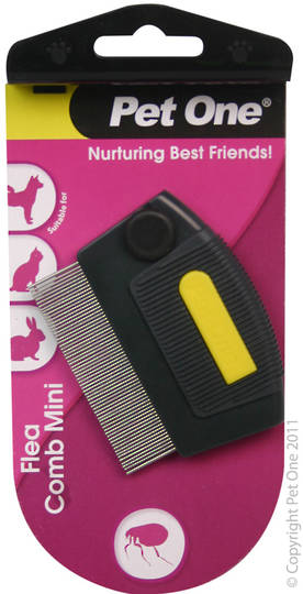 Pet One Flea Comb Mini