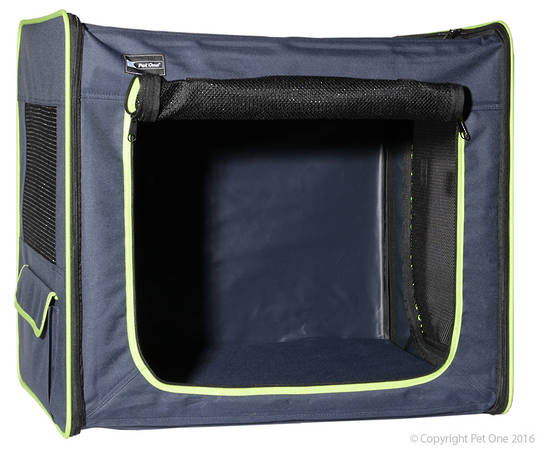 Pet One Kennel Portable Soft / M / 61L x 46W x 53.5cmH