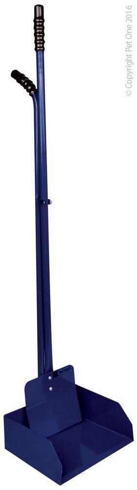 Pet One Pooper Scooper Large Metal 20cm Scoop x 82cm Handle