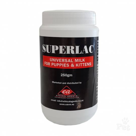 Superlac Puppy & Kitten Milk 250g