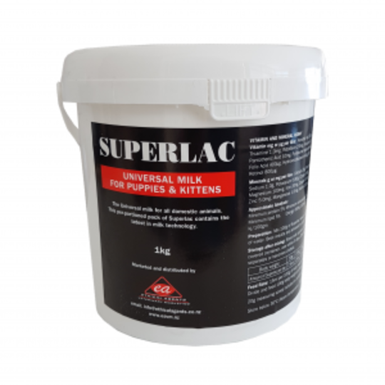 Superlac Puppy & Kitten Milk 1kg