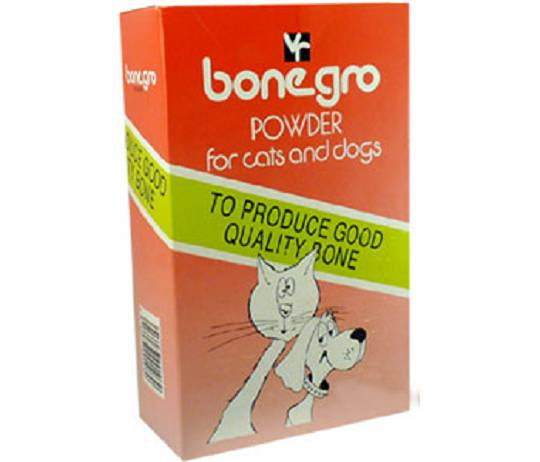 Bone Gro powder for Cats and Dogs 250g