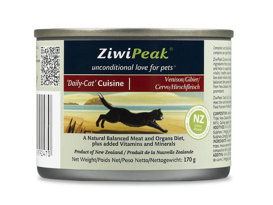 Ziwi Peak Moist Venison Cat Cuisine 170g