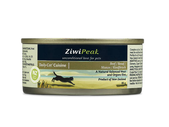 Ziwi Peak Moist Beef Cat Cuisine 85g