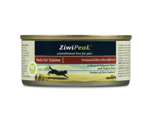 Ziwi Peak Moist Venison Cat Cuisine 85g