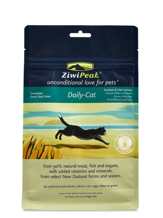 Ziwi Peak Air Dried Venison & Fish Cat Cuisine 400g