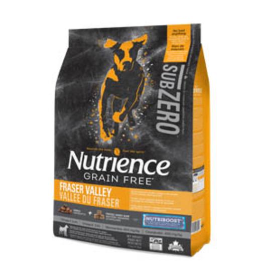 Nutrience Dog 5kg Sub Zero Fraser Valley