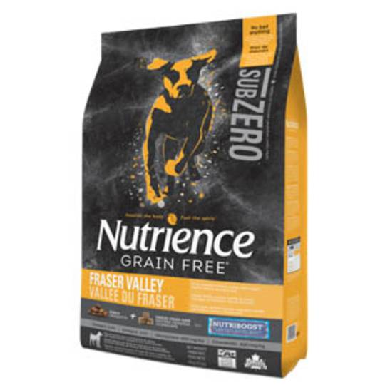 Nutrience Dog 10kg Sub Zero Fraser Valley