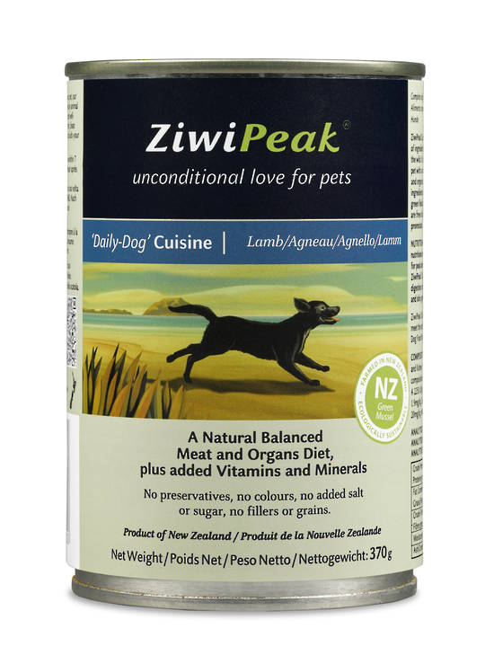 Ziwi Peak Moist Lamb Dog Cuisine 370g