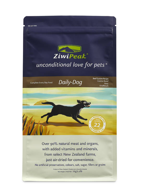 Ziwi Peak Air-Dried Beef Dog Cuisine 1kg