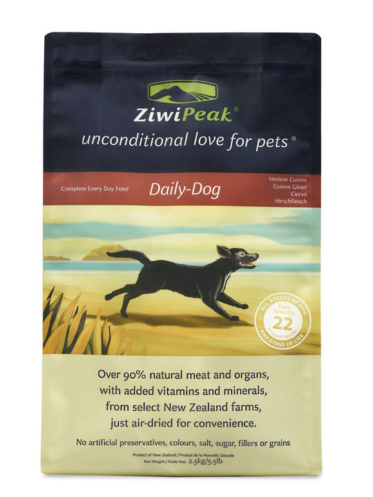 Ziwi Peak Air-Dried Venison Cuisine 2.5kg
