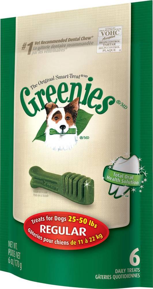 Greenies Canine Mini Treats for Regular Dogs 170g / 6 Dental Chews