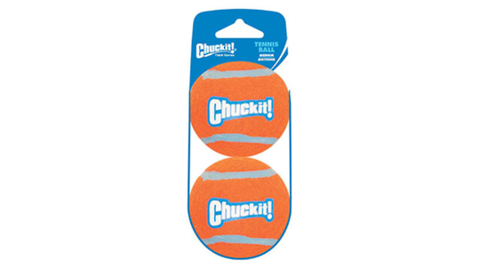 CHUCKIT! Tennis Ball Medium - 2 pack