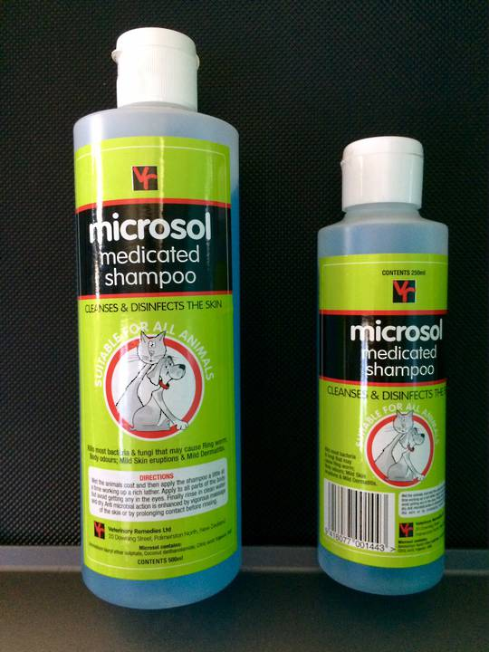 Microsol Medicated Shampoo 500ml