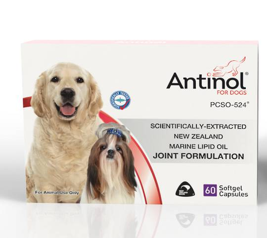 Antinol® for Dogs - Joint formulation gel capsules 60 cap