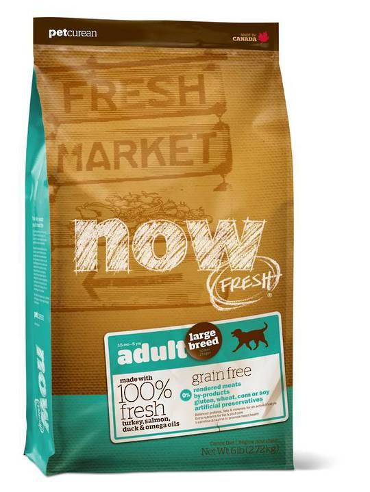 Now Grain Free Large Breed Adult Dog Recipe 230g