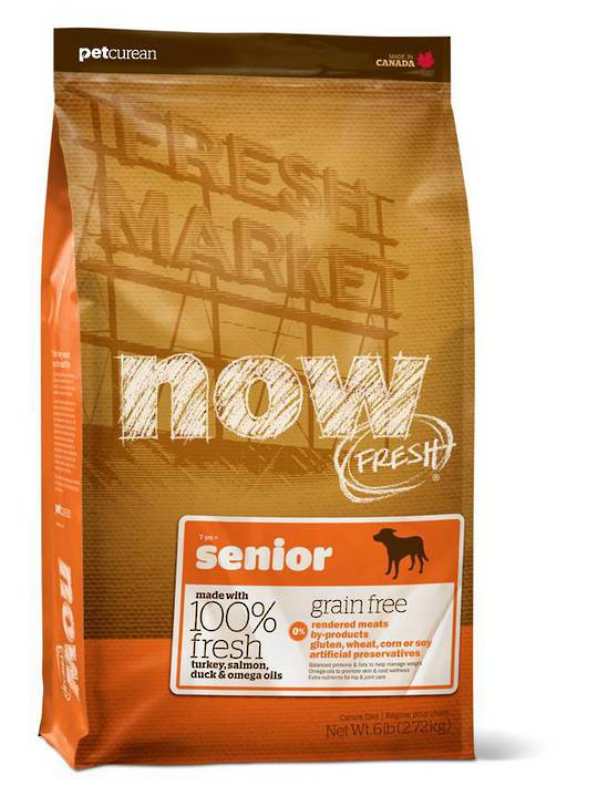 Now Grain Free Senior Dog Food 230g